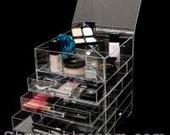 ICEbOX SKINNY- Celebrity Brand Luxury Makeup Organizer