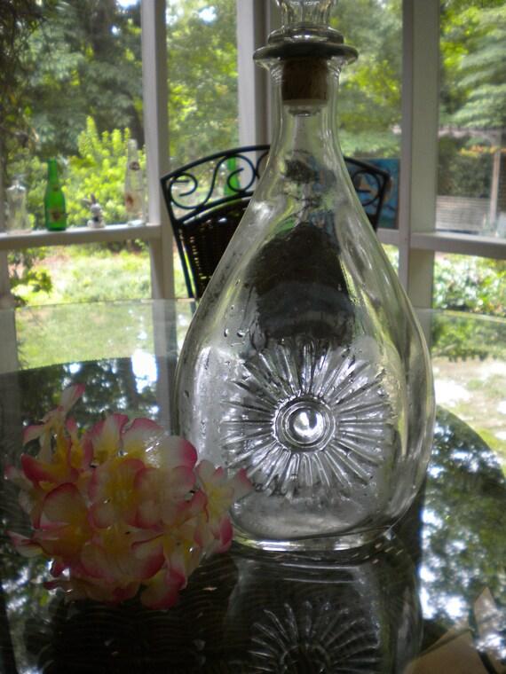"Vintage Decanter or Bottle - Walker""s Deluxe Bourbon"
