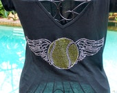 WOW Check Out this Tennis Ball With Wings T-Shirt