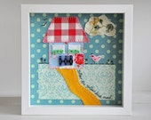 Made to order - Custom-order a similar country cottage - Framed wall art