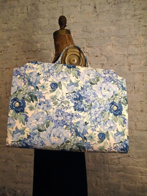1950s Margaret Smith Floral Tote