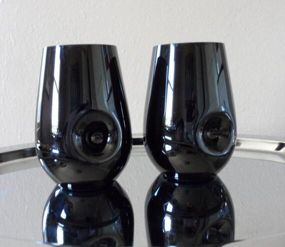 Riedel Black Sommeliers Stemless Tasting Wine Glasses