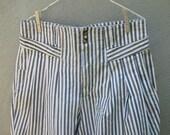 Vintage 80's 90's High Waist Denim Shorts L