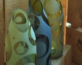 Carafe/Vase created from Wine Bottle