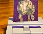 Dog Portrait - Colored Pencil on Digital Print