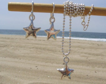 Starlet Necklace on Ball Chain
