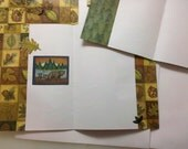 6 Blank Cards with envelops, outdoorsy theme