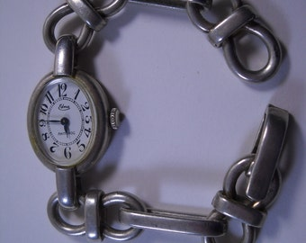 45 grams Solid Victorian Silver Watch Rebuilt and Cleaned by Master Jeweler
