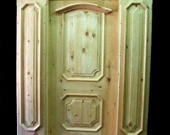 Entry Door 3.5'x8' opening