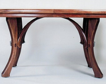 Dining Table: Mahogany