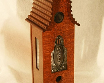 Bird House made from Lacewood