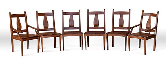 Chair Set in Mahogany