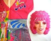 Vintage 1985 Jem & The Holograms Halloween Costume