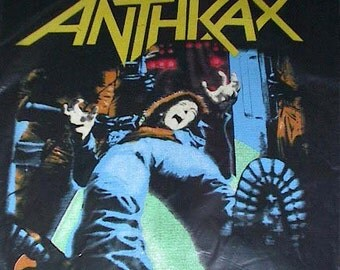 Anthrax Backpatch - Spreading the Disease (1985)  - DeadStock, like New in Original Packaging back patch State of Euphoria Tour 1988