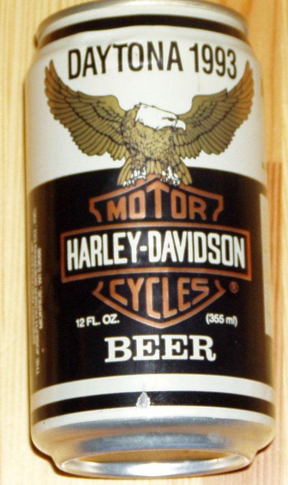 Harley Davidson Beer from Daytona Beach 1993 - Unopened