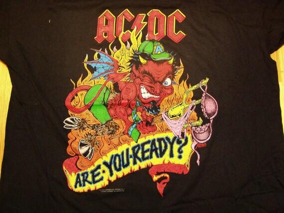 Kinder Garden: AC/DC 'Are You Ready' Ballbreaker Tour T-Shirt