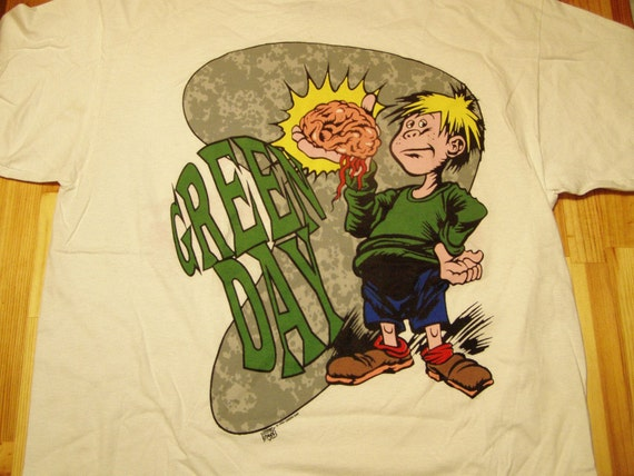 Green Day  Dookie Tour TShirt Eat Your Parents DeadStock w Tags Licensed xl