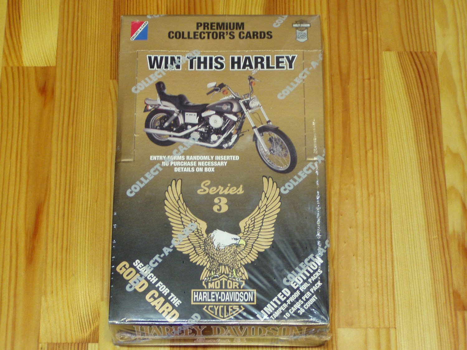 Harley-Davidson Collector Cards Series 3 Sealed Case-1378