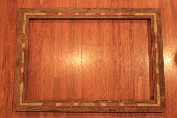 picture frame 16 x 24 barnwood sandstone