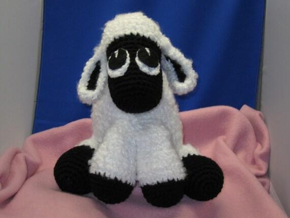 Crocheted Lamb