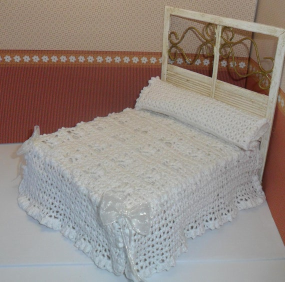 Colcha blanca de crochet - Colcha blanca ikea ...