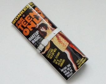 Vintage Mod Retro 1960s Teen Teenage Magazine Clutch Purse Bag