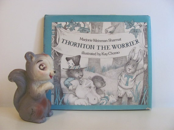 Vintage 1978 Book Thornton The Worrier By Marjorie Weinman Sharmat