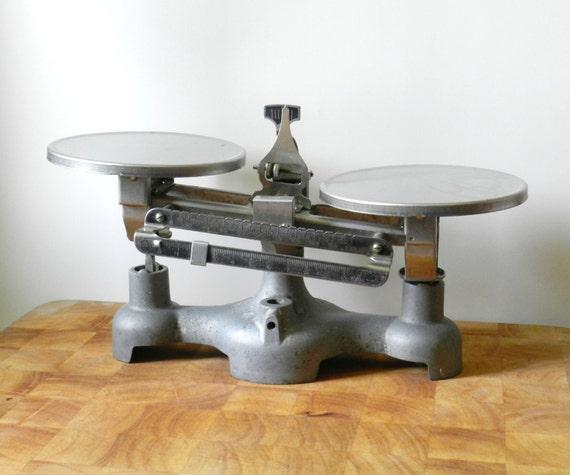 Vintage Double Scale for Decoration