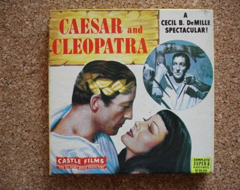 Caesar and Cleopatra-Vintage 8MM Movie- We have hundreds of 8mm films-Check us out
