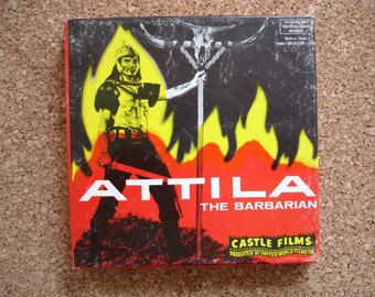 Attila the Barbarian- Vintage 8MM Movie- We have hundreds of 8mm movies