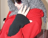 Knit Hooded Scarf