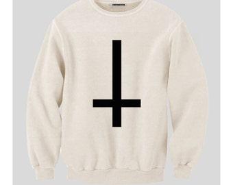 Upside down/ Inverted Cross Sweatshirt