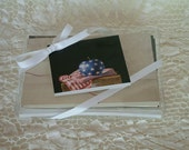 Holiday SALE Greg Mort Gift tags  Folded 3.5 X 4  or note cards/place cards Complimentary shipping Sets of four (4)  3.00.