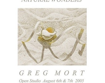 Poster by Greg Mort NATURAL WONDERS  beautiful Limited Edition Fine Art Poster