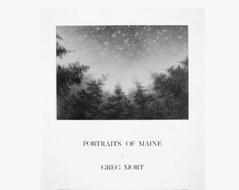 Poster by Greg Mort Limited Edition Fine Art Poster PORTRAITS of MAINE