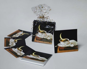 Greg Mort Gift Cards SUN MOON and STARS Bagged sets 5 X 5