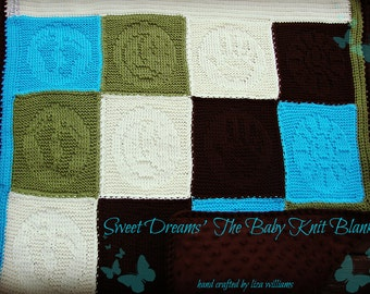 Sweet Dreams Baby Knit Blanket
