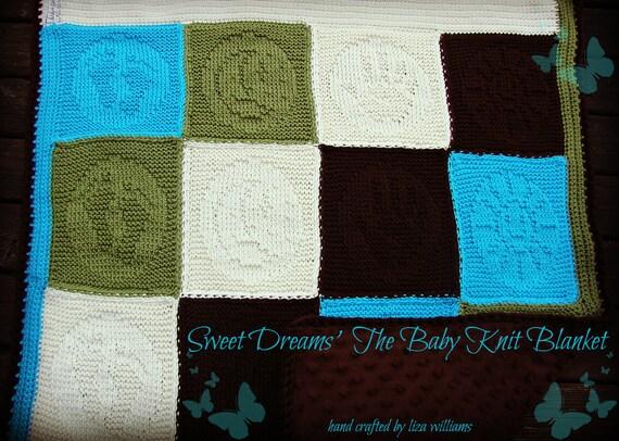 Sweet Dreams Baby Knit Blanket