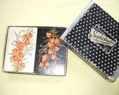 VINTAGE 50's playing cards, ARRCO playing card co. Chicago, Chinese Lantern design