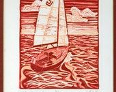 Obstinacy and Grace 6/6 Block Print
