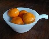 Anchor Milk Glass Soup Bowl