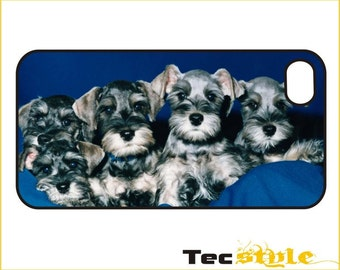 Schnauzer Puppies iPhone / Android Phone Case / Cover - iPhone 4 / 4s, 5 / 5s, 6 / 6 Plus, Samsung Galaxy s4, s5