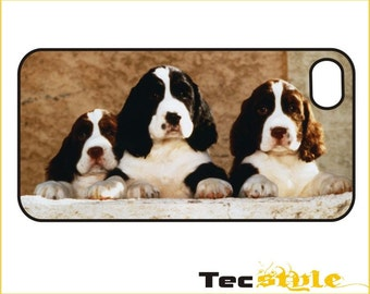 Springer Spaniel Puppies - iPhone / Android Phone Case / Cover - iPhone 4 / 4s, 5 / 5s, 6 / 6 Plus, Samsung Galaxy s4, s5