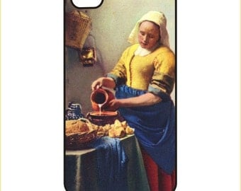 Vermeer - MilkmaidiPhone / Android Phone Case / Cover - iPhone 4 / 4s, 5 / 5s, 6 / 6 Plus, Samsung Galaxy s4, s5