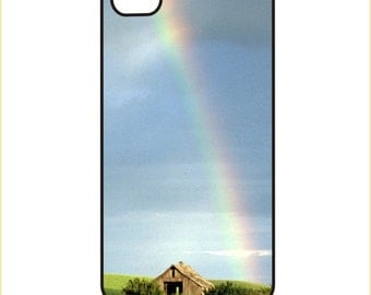 Rainbow over barn - iPhone / Android Phone Case / Cover - iPhone 4 / 4s, 5 / 5s, 6 / 6 Plus, Samsung Galaxy s4, s5