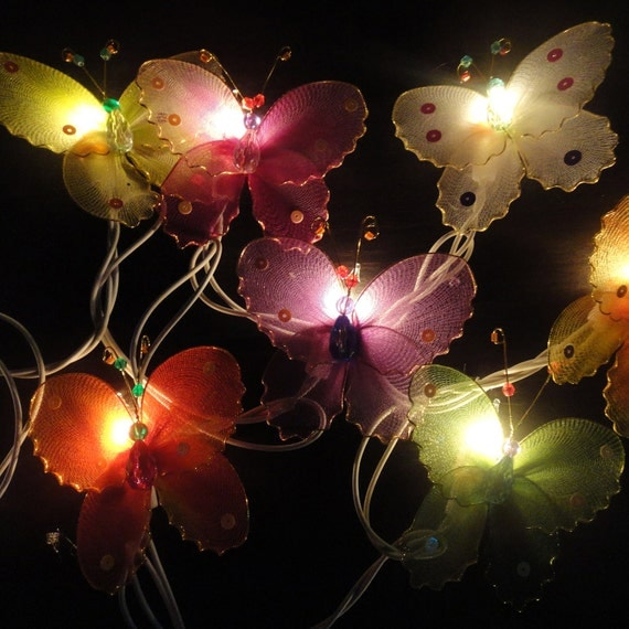 Butterfly String Lights For Bedroom : Limited Multi String Lights Butterfly Fairy Lights Bedroom