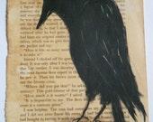 Crow the night visitor Original Painting