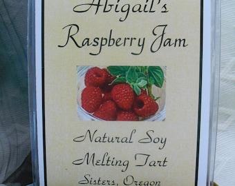 Raspberry Jam Soy Melting Tart by Abigail's on Main