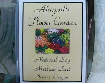Flower Garden Soy Melting Tart by Abigail's on Main