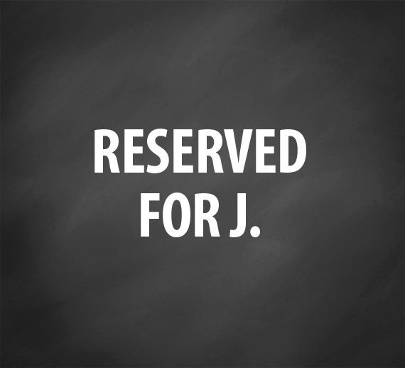 RESERVED - custom digital graphic design